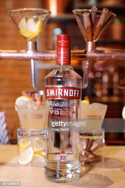 SMIRNOFF display at 2017 New York Taste at The Waterfront Building on November 6 2017 in New York City