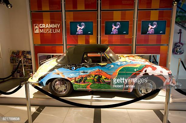 Display at Grammy Museum in Downtwon Los Angeles