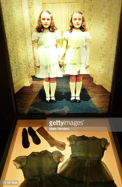 A display from the movie The Shining is seen at an exhibition of items from 13 movies of director Stanley Kubrick at the Caermersklooster on October...