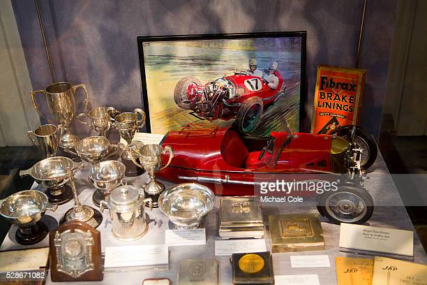 Display in Museum during The Bentley Drivers Club Tests Meeting at The Brooklands Museum 15th March 2015