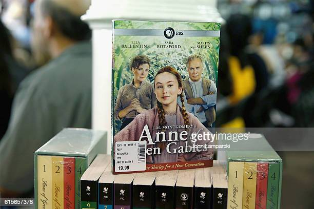 CD display is seen during the 'Anne Of Green Gables' reading at Barnes Noble Union Square on October 19 2016 in New York City