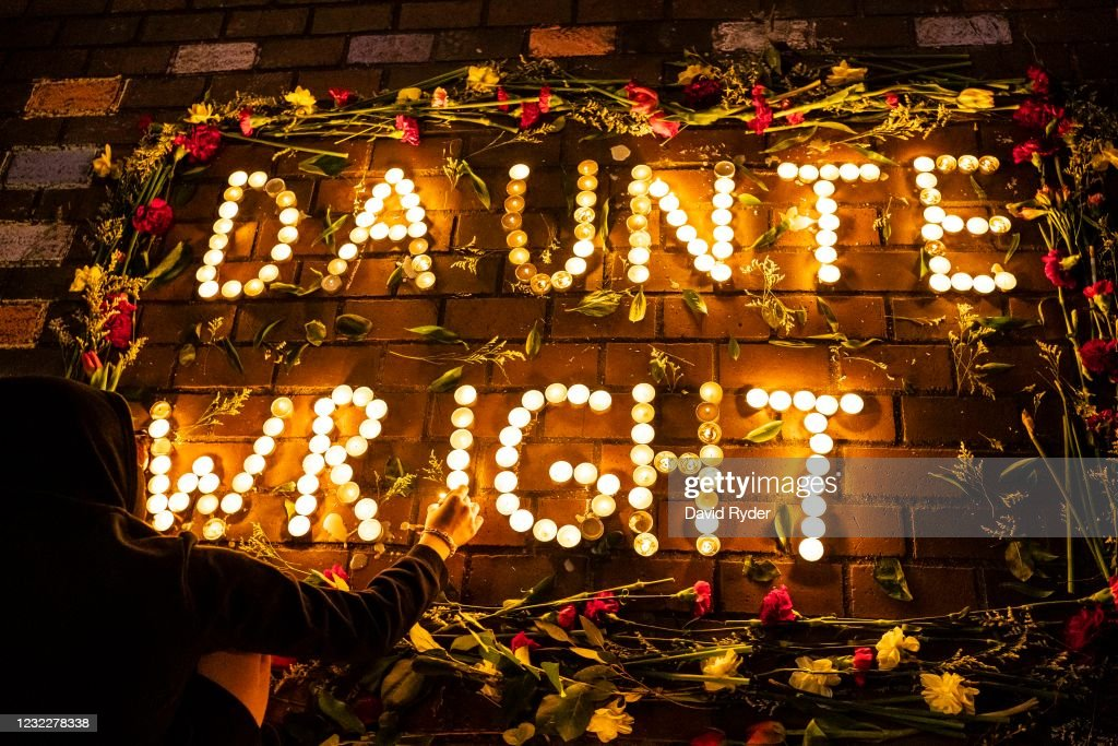 Protests Break Out Across U.S. After Police Shooting Death Of Daunte Wright : News Photo