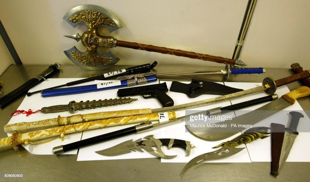 Scottish holidaymakers warned over weapons pictures getty images a display of many strange weapons that travellers have brought back from overseas during a altavistaventures Gallery