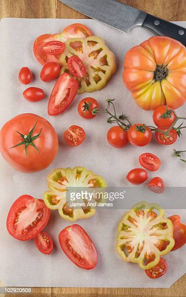 Display of Tomatoes
