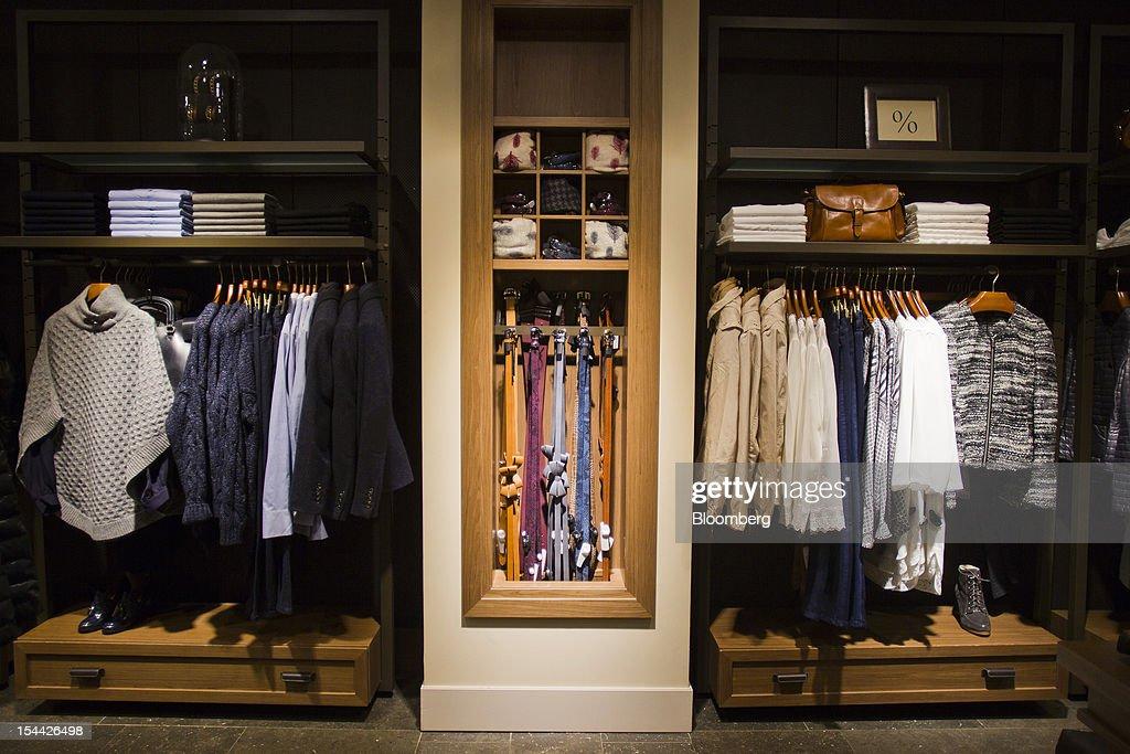 Inside A Massimo Dutti Fashion Store As Inditex SA Extends ...