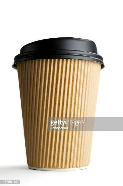 disposable coffee cup - disposable stock photos and pictures