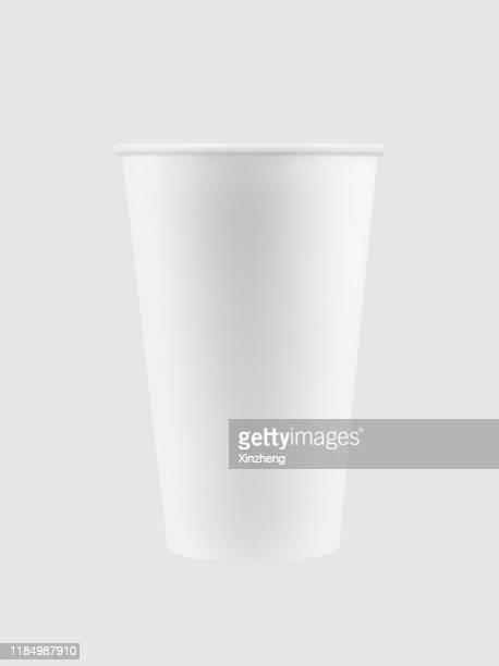disposable coffee cups / tea cups / paper cup - disposable cup stock pictures, royalty-free photos & images