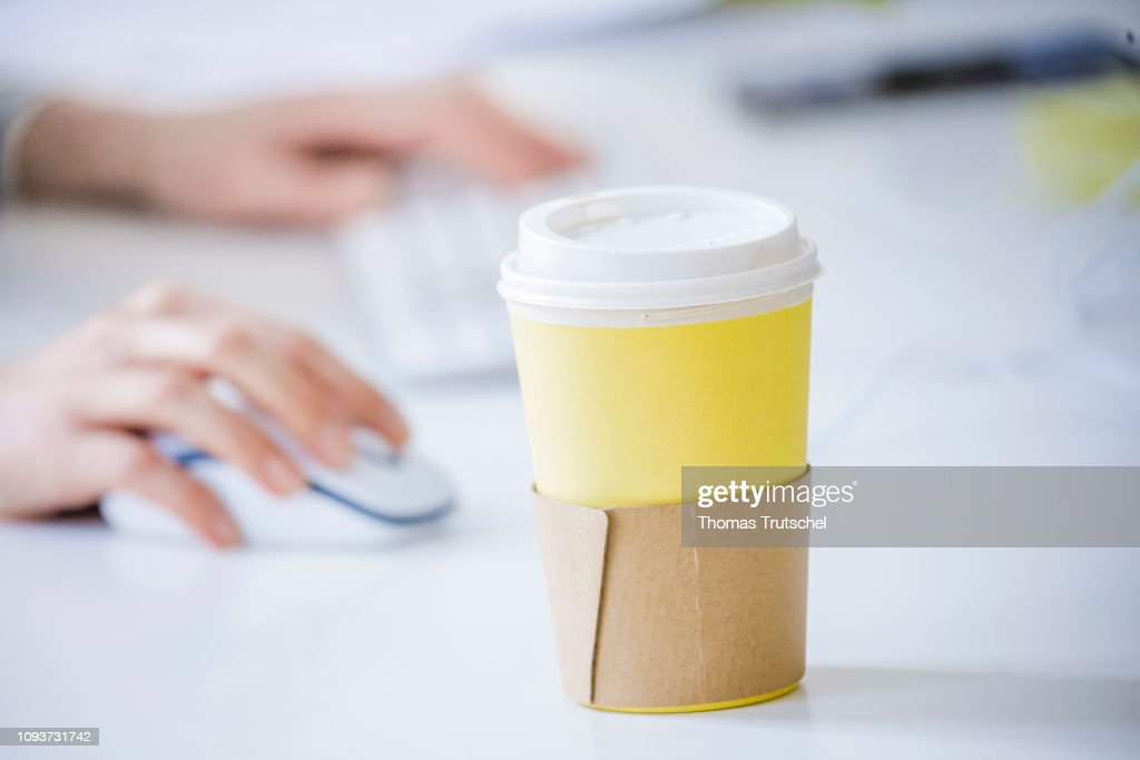 Coffee To Go Cup : News Photo