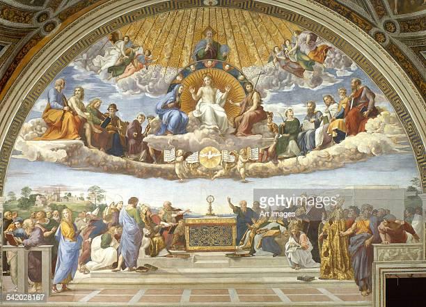 Disputa, from the Stanza della Segnatura, 1508-11