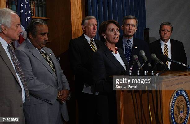 DISPUTESander Levin DMich Ways and Means ranking Demcorat Charles B Rangel DNY House Minority Whip Steny Hoyer DMd House Minority Leader Nancy Pelosi...