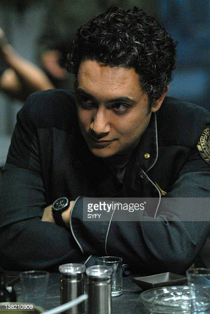 GALACTICA 'A Disquiet Follows My Soul' Episode 14 Air Date Pictured Alessandro Juliani as Lt Felix Gaeta