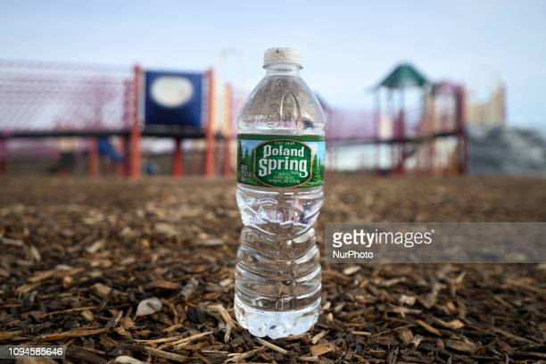 Disregarded water bottle found at Warminster community park located at the former Naval Air Warfare Center Warminster in Bucks County Pennsylvania...
