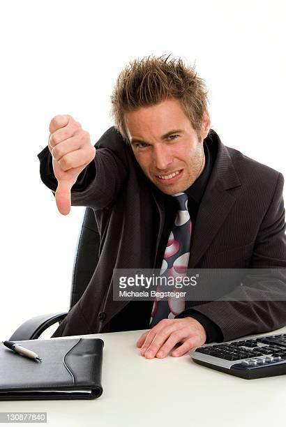 Dissatisfied office clerk