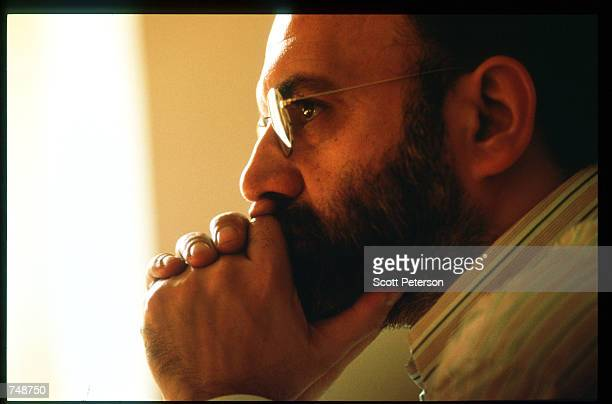 Dissident Abdulkarim Soroush poses December 8 1997 in Tehran Iran Having relaxed restrictions on the press and cultural expression during the 1980's...