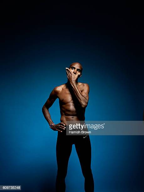 Distance runner Mo Farah is photographed for Sports magazine on June 6 2016 in London England