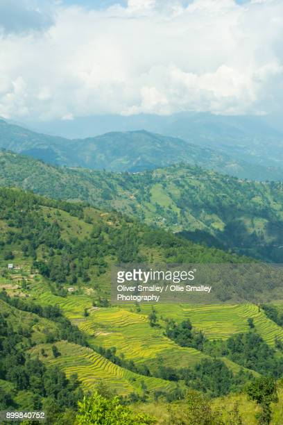 Distant Mountains - Nagarkot, Nepal