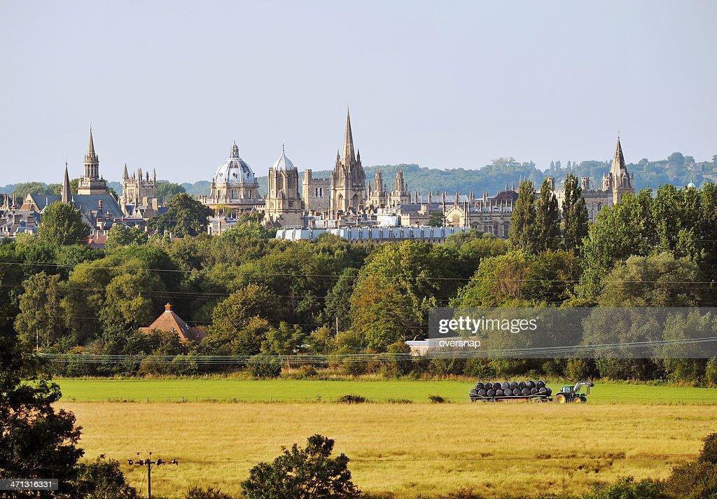 Distant Spires of Oxford : Stock Photo