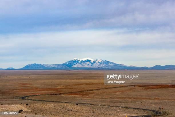 Distant view of Humphrey's Peak