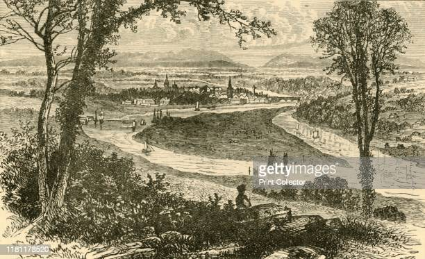 Distant View of Perth', 1898. Perth, a city in Scotland on the banks of the River Tay, was perfectly placed to become a key transport centre with the...