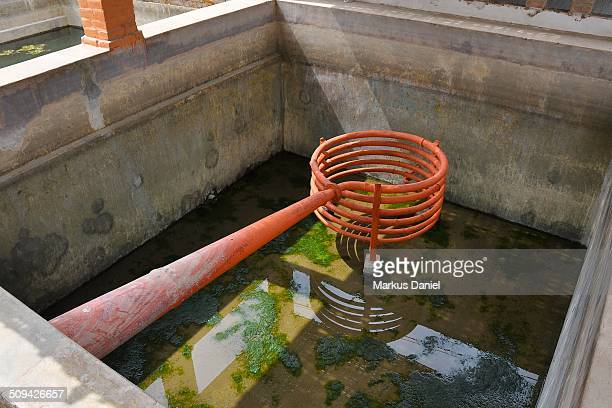 Distillation Spiral and Cooling Pool