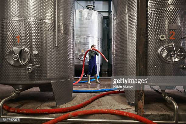 distillery - hose stock pictures, royalty-free photos & images