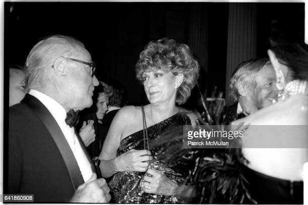 Distinguished gentleman, Pat Buckley, and William F. Buckley at the Costume Institute's Met Ball Benefit held at the Metropolitan Museum of Art....