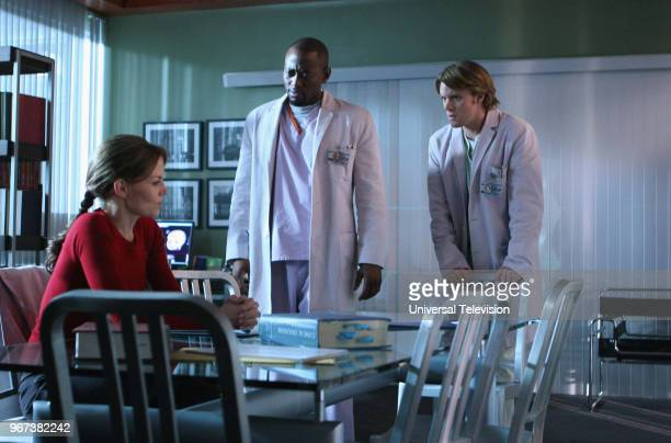 HOUSE 'Distractions' Episode 12 Pictured Jennifer Morrison as Dr Allison Cameron Omar Epps as Dr Eric Foreman Jesse Spencer as Dr Robert Chase
