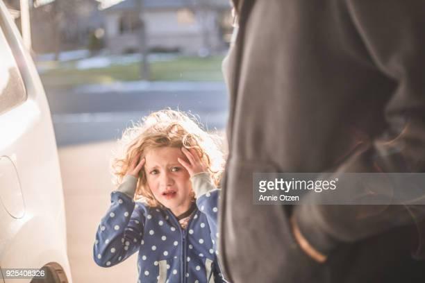 Distraught Little Girl