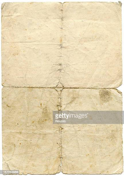 Distressed antique paper