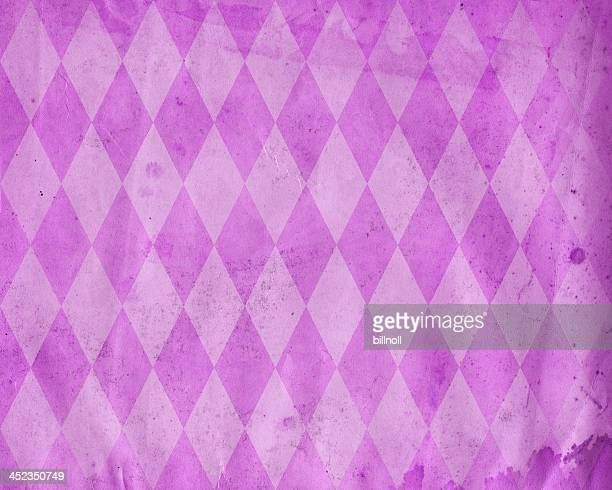 distressed diamond pattern paper
