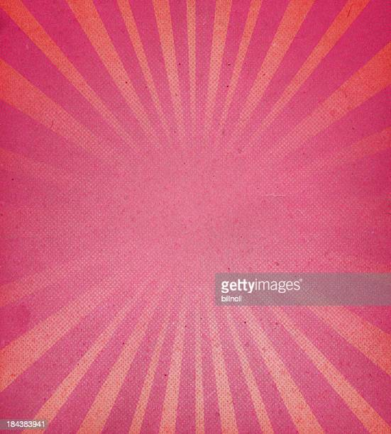 distressed paper with starburst pattern