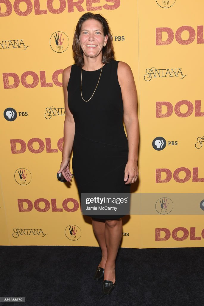 Distribution Co-President Andrea Downing attends the 'Dolores' New York Premiere at The Metrograph on August 21, 2017 in New York City.