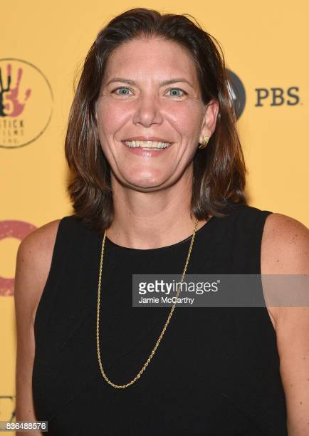 Distribution CoPresident Andrea Downing attends the 'Dolores' New York Premiere at The Metrograph on August 21 2017 in New York City
