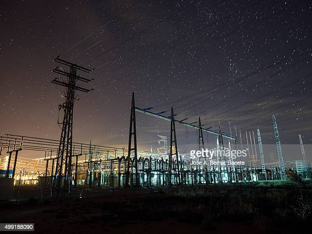 Distribution plant of electricity of high tension