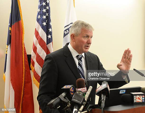 District Attorney Andrew Murray speaks during a press conference on Wednesday Nov 30 2016 at the District Attorney's office where he announced that...