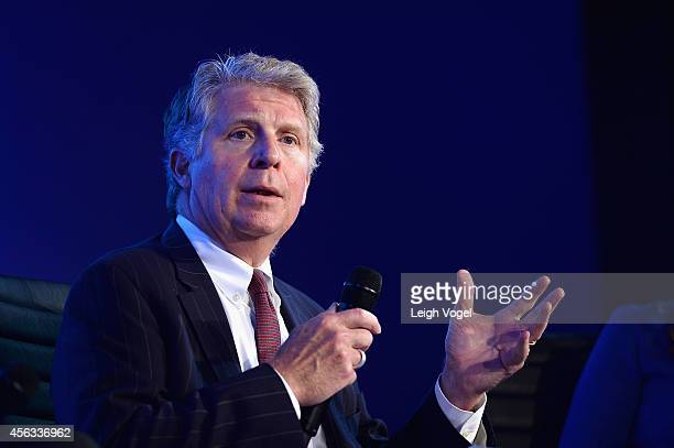 District Attorney for New York County, Cyrus R. Vance, speaks onstage at the 2014 Concordia Summit - Day 1 at Grand Hyatt New York on September 29,...