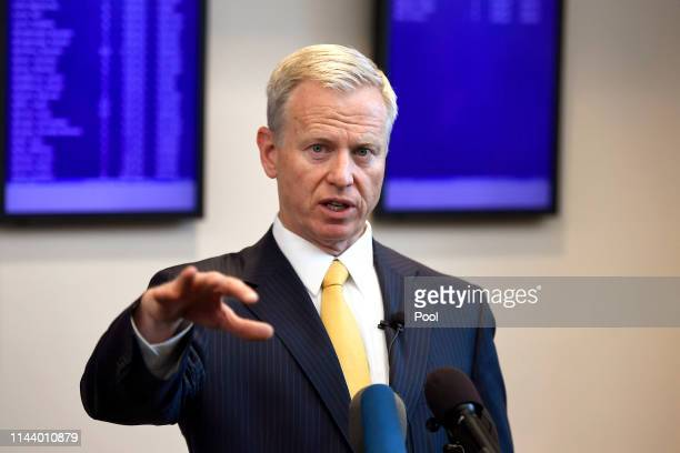 District Attorney George Brauchler addresses the media after STEM School Highlands Ranch shooting suspect's 18 year old Devon Erickson and...