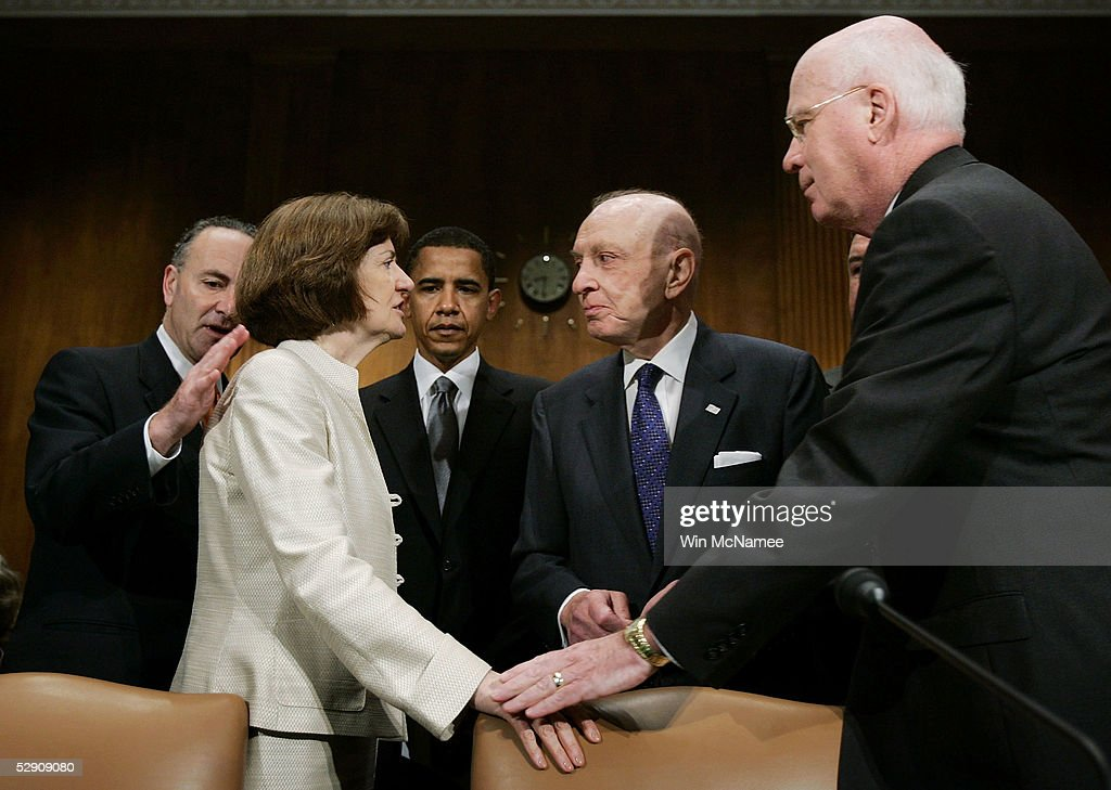 Senate Judiciary Committee Holds Hearing On Safety Of The Judiciary : News Photo