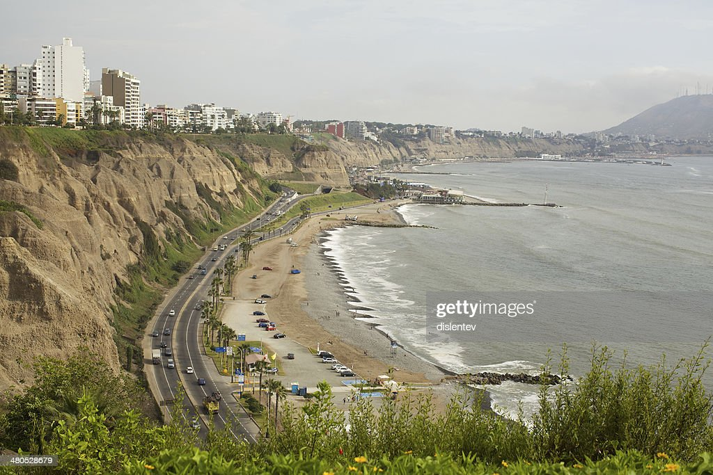 district of Miraflores : Stockfoto