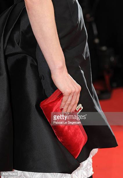 Dita von Teese accessories at the Inglourious Basterds Premiere held at the Palais Des Festivals during the 62nd International Cannes Film Festival...