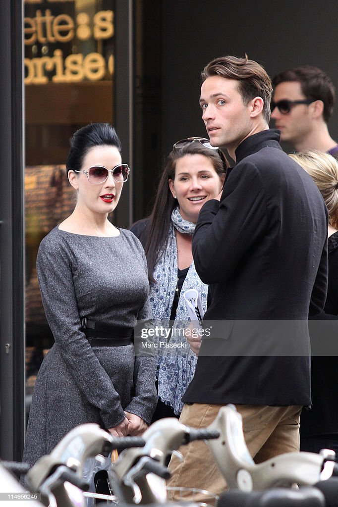 Celebrity Sightings In Paris - May 31, 2011