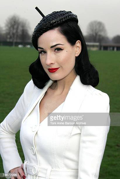 Dita Von Teese at the Paris in Paris France