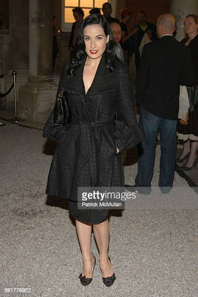dcf545b1fed Dita von Teese attends HM Launch Party for Stella McCartney for HM at St  Olaves on