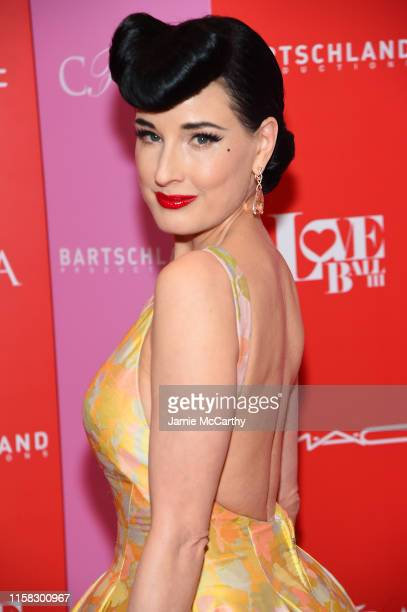 Dita Von Teese attends Love Ball III at Gotham Hall on June 25, 2019 in New York City.