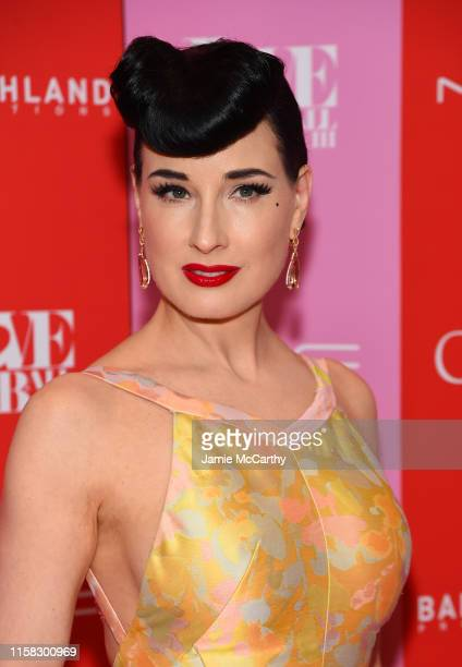 Dita Von Teese attends Love Ball III at Gotham Hall on June 25 2019 in New York City