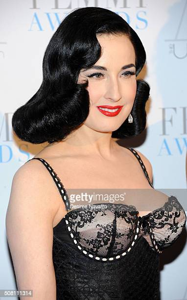 e372ef47ae4 Dita Von Teese attends the 2016 FEMMY Awards at Cipriani 42nd Street on February  2 2016