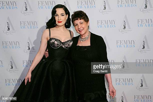 8243f7b1e09 Dita Von Teese attends the 2016 Femmy Awards on February 2 2016 in New York  City