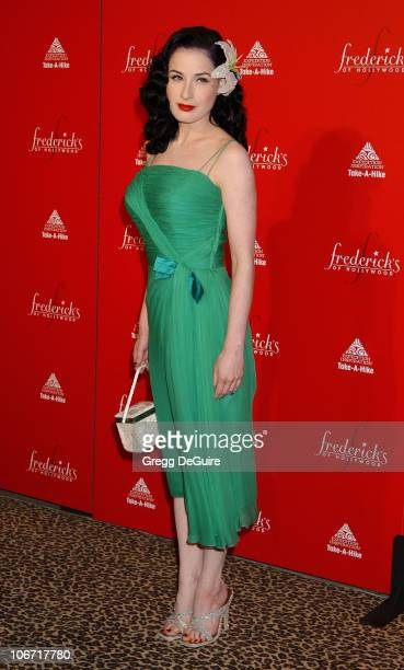 Dita Von Teese during Smashbox Fashion Week Los Angeles Frederick's of Hollywood Fashion Show Fall 2003 Collection to benefit Expedition Inspiration...