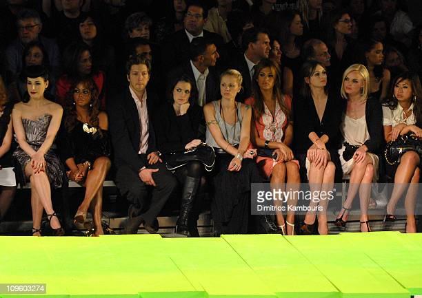 Dita Von Teese Lil Kim Winona Ryder Eva Mendes Emily Mortimer and Kate Bosworth