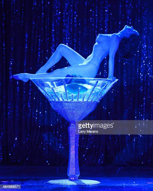 Dita Von Teese performs at Revolution on April 11 2014 in Fort Lauderdale Florida